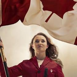 Rosie McLennan Canadian Flag