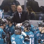Peter DeBoer with San Jose Sharks