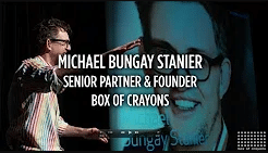 Michael Bungay Stanier Professional speaking engagement