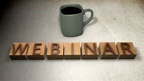 Webinars, Virtual Presentations