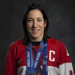Caroline Ouellete, Motivational Speaker, 4-Time Olympic Gold Medalist